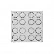 Pions ronds de jeux de société pour sublimation - Ø16mm - Gabarit de 16 unités