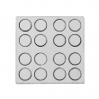 Pions ronds de jeux de société pour sublimation - Ø25mm - Gabarit de 16 unités