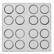 Pions ronds de jeux de société pour sublimation - Ø35mm - Gabarit de 16 unités