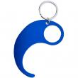 Ouvre-porte sans contact en aluminium - Bleu - Lot de 5 unités