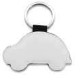 Key Ring - Faux Leather - Car