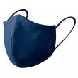 Masque de protection réutilisable - 3D - Traitement antiviral et antibactérien - Bleu marine