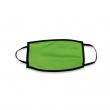 Masque de protection pour sublimation - Double épaisseur - Enfant - Vert fluo