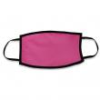 Masque de protection pour sublimation - Double épaisseur - Adulte - Rose fluo