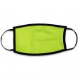 Masque de protection pour sublimation - Double épaisseur - Adulte - Jaune fluo
