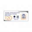 Papel sublimación especial tazas Brildor 120 - Pack 100 hojas de 24x10cm
