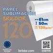 Papier sublimation - Brildor 120 - Rouleau de 61 cm x 50 m