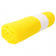 Sublimation Beach Towel with decorative border - Microfibre - Yellow