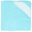 Cape de bain bébé pour sublimation - Tissu éponge 100% coton - Bleu