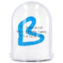 Bola de nieve con foto tamaño XXL