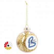 Boules de Noël pour sublimation avec remplissage coloré