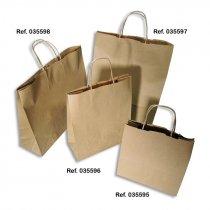 Bolsas de papel kraft - Packs de 10 uds