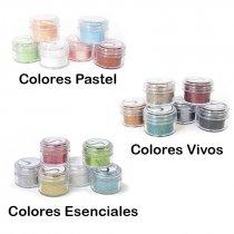 Brillantina o Purpurina Silhouette - Pack de 6 colores