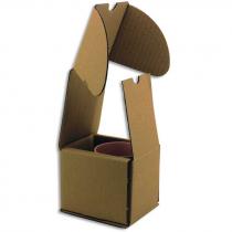 Caja de transporte para tazas