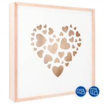 Caja modelo Love Box con panel deslizante