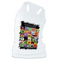 Camiseta tirantes chica para sublimación tacto algodón