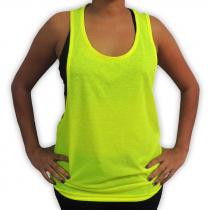 Camiseta Unisex fluorescente de Tirantes 100% Poliéster