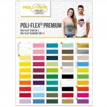 Colour card for Poli-Flex® Premium HTV - Stretch & Blockout