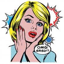 Diseño Transfer OMG Comic - Pack de 3 uds