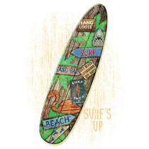 Diseño Transfer Surf Board