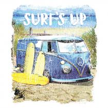 Diseño Transfer Surf's Up Van - Pack de 3 uds