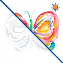 Diseño Transfer Butterfly Beauty