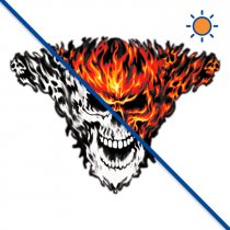 Diseño transfer Solar Raging Inferno