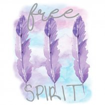 Diseño Transfer Free Spirit - Pack 3 uds
