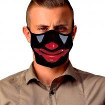 Diseño transfer para mascarillas Cara Joker