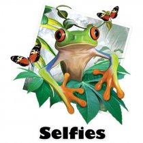 Diseño Transfer Tree Frog Selfie