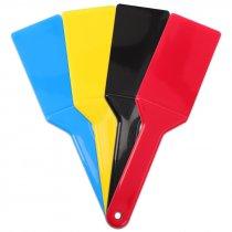 Espátula para serigrafía de plástico - Pack de 4 uds colores surtidos