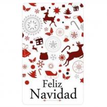 """Etiquetas adhesivas Feliz Navidad """"Collage"""""""