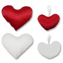 Funda de cojín corazón para sublimación