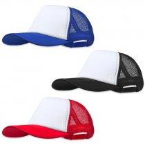 Gorras bicolor para sublimación