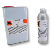Imprimación solvente para aplicacion de vinilo decorativo en bordes y esquinas