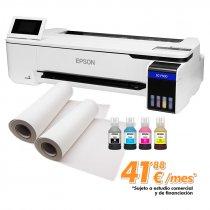 "Kit de impresora Epson SC-F500 de 24"" con papel para sublimación - Kit para sublimación"