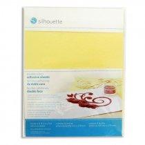 Lámina adhesiva doble cara Silhouette - Pack 8 hojas de 216x279mm