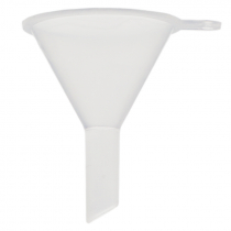 Small Funnel - Clear Plastic - Pack of 4 units