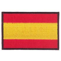 Parche bordado bandera de España pack 3 uds