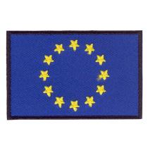 Parche bordado bandera de Europa pack 3 uds