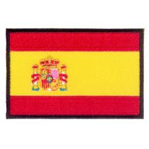 Parche bordado bandera de España Constitucional pack 3 uds