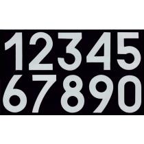 Números Dorsales Termoadhesivos de Tela Round