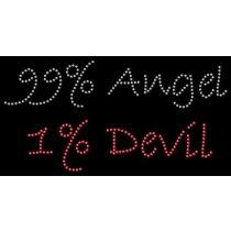 Diseño de pedrería 99% angel 1% devil