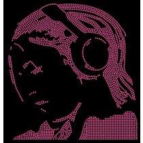 Diseño de pedrería DJ cara