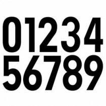 Números Transfer Monofont