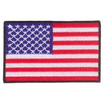 Parche bordado bandera de USA pack 3 uds