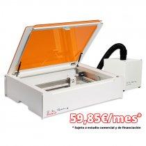 Pack filtro de aire y máquina láser de sobremesa para corte y grabado Mr. Beam II Dreamcut - Financiación