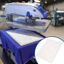 Papel protector siliconado para plancha