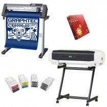 Propuesta de compra inicial para impresión y corte de vinilo