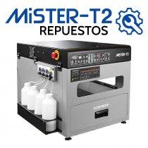 Repuestos para máquina de pretratamiento Mister T-2